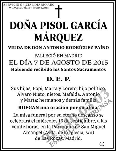 Pisol García Márquez